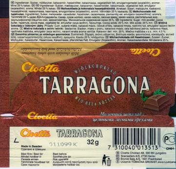 Tarragona шоколад