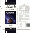 Lindt Excellence, extra fine dark chocolate with blueberries, 100g, 12.2012, Lindt & Sprungli AG, Kilchberg, Switzerland