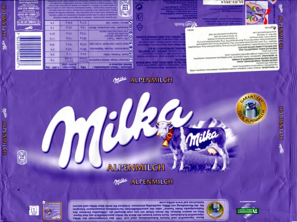 Milka, milk chocolate, 300g, 21.02.2013, Kraft Foods, Austria