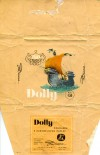 Dolly, milk chocolate with caramell filled, 70g, about 1970, Diana, Decin, Czech Republic (CZECHOSLOVAKIA)