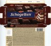 Schogetten, filled dark chocolate with tiramisu, 100g, 05.12.2012, Trumpf Schokoladefabrik GmbH, Saarlouis, Germany