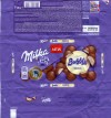 Milka, milk chocolate with aerated white chocolate, 100g, 09.12.2014, Mondelez Polska S.A., Warszawa, Poland