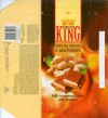Choco King, milk compound tablet with peanuts, 100g, 06.2006, Interagra, Poznan, Poland