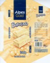 Alpen Gold, aerated white chocolate, 80g, 28.07.2005, Kraft Foods Polska S.A, Jankowice, Tarnowo Podgorne, Poland