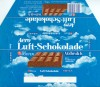 Aero Luft-schokolade, aerated milk chocolate, 100g, 1980, Van Houten, Quickborn, Germany
