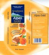 Alpen Gold, milk chocolate with peach cream filling, 100g, 04.2001, Stollwerck-Polska Sp. z o.o., Jankowice, Tarnowo Podgorne, Poland