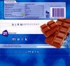 Milk chocolate, 100g, 26.03.2006, Albert Heijn, Zaandam, Netherlands