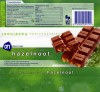 Milk chocolate with hazelnuts, 100g, 08.03.2006, Albert Heijn, Zaandam, Netherlands
