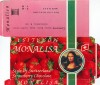 Mona Lisa,strawberry chocolate, 100g, 08.1995
