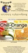 Chili orange chocolate, 90g, 12.2008, Backerei-Konditorei- Confiserie Wolfgang Bauer, Muhlbach am Hochkonig, Austria