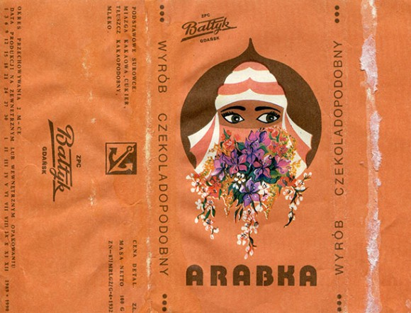 Arabka, 100g, about 1989, Baltyk Chocolate ZPC, Gdansk, Poland