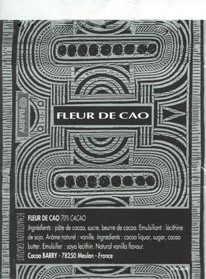 Fleur de Cao, dark chocolate 70%, Barry Callebaut, Meulan, France