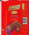 Mousse a la Creme, milk chocolate, 120g, 23.09.2006, Beacon, Tiger Food Brands Ltd., Bryanston, South Africa