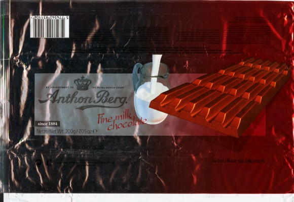 Fine milk chocolate, 200g, 26.08.2005, Anthon Berg LTD, Ballerup, Denmark