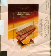 Bernrain suisse orange, milk chocolate with orange, Chocolat Bernrain AG, Kreuzlingen, Switzerland