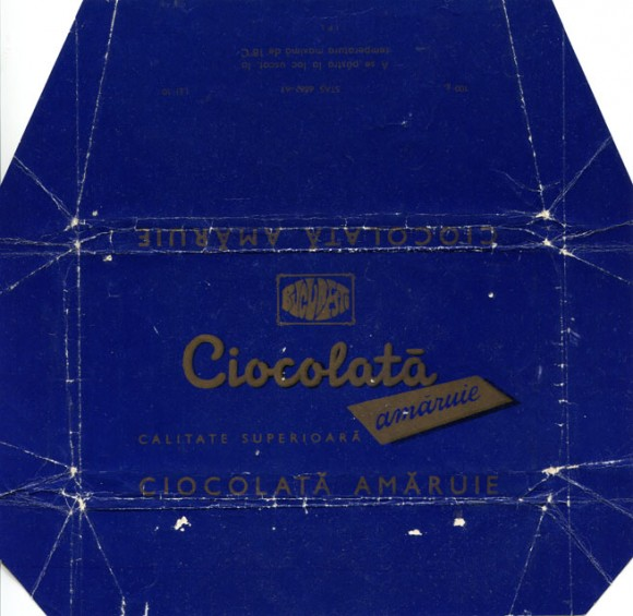 Ciocolate Amaruie, about 1970, 100g, Bucuresti, Bucharest, Romania