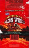 Original wagon wheels, mallow biscuits with chocolate flavour coating, Burton\