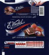 Milk chocolate filled with strawberry cream flavoured, 100g, 13.03.2010, E.Wedel, Warszawa, Poland