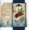 Milk chocolate with 10% hemp seeds, 80g, 17.01.2017, CARLA spol. s.r.o., Dvur Kralove nad Labem, Czech Republic