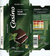 Dark chocolate with mint, 150g, 29.08.2013, Casino, Saint-Etienne Cedex 2, France