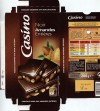 Dark chocolate with whole hazelnuts, 200g, 01.2014, Casino, Saint-Etienne Cedex 2, France