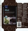 Dark chocolate with mint flavoured, 100g, 01.2015, Cemoi chocolatier for S-ryhma Finland, France