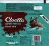 Cloetta sprinkle milk chocoalte with rice cereals and peppermint groats, 75g, 23.02.2016, Cloetta Suomi Oy, Turku, Finland