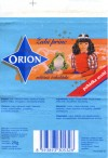 Orion, Zabi princ, milk chocolate, 25g, 07.1994, Cokoladovny a.s., Praha 4, Czech Republic