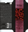 Vivani, organic superior dark chocolate with pieces of cranberry, 100g, 02.2016, EcoFinia GmbH, Herford, Germany/ art work Annette Wessel