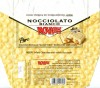 Nocciolato Bianco, wihte chocolate with whole hazelnuts, 130g, 08.2008, Elah Dufour S.p.A, Novi Ligure, Italy