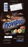 Novi, milk chocolate with whole nuts, 60g, 10.2013, Elah Dufour S.p.A, Novi Ligure, Italy