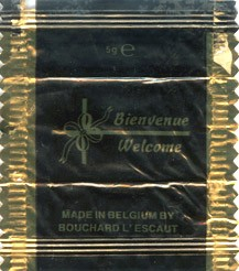 Bienvenue Welcome, milk chocolate, 5g, Bouchard L