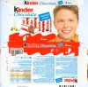 Kinder chocolate, 8 bars, 100g, 10.10.2008, Ferrero OHG MBH, Stadtallendorf, Germany