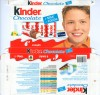 Kinder chocolate, 8 bars, 100g, 05.2008, Ferrero OHG MBH, Stadtallendorf, Germany