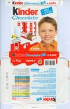 Kinder chocolate, 4 bars, 100g, 05.2009, Ferrero OHG MBH, Stadtallendorf, Germany