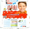 Kinder chocolate, 8 bars, 100g, 09.2011, Ferrero OHG MBH, Stadtallendorf, Germany