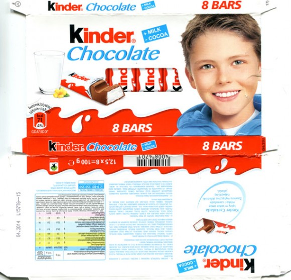 Kinder chocolate, 100g, 04.2013, Ferrero Polska, Poland