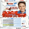 Kinder chocolate 8 bars, 100g, 08.2013, Ferrero Polska, Poland