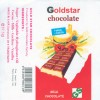 Goldstar chocolate, milk chocolate, 37,5g, 11.2001, Gold Star, Damascus, Syria