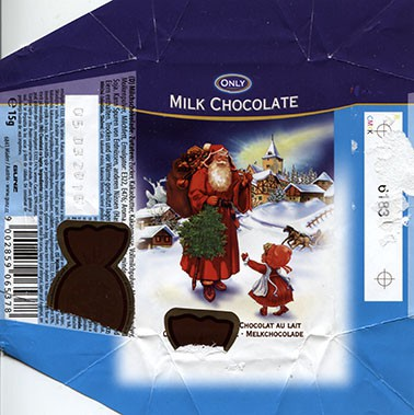 Only, milk chocolate, 15g, 05.03.2015, Gunz, Mader, Austria