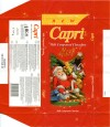 Capri, milk compound chocolate, 75g, 18.09.2007, HAS Industris, Tompsan, Bulgaria
