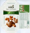 Grand'Or, milk chocolate with caramel coated whole hazelnuts, 100g, 05.2006, Heidi Chocolats Suisse S.A., Jud.Ilfov, Romania