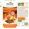 Cote D'Azur, milk chocolate with lemon granules, caramelized almonds and blood orange granules, 80g, 15.05.2012, Heidi Chocolat S.A, Romania