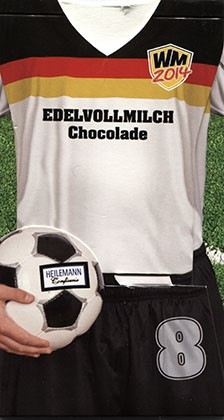 Milk chocolate, 37g, 11.05.2014, Confiserie Heilemann GmbH, Woringen, Germany