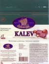 Kalev, milk chocolate with hazelnuts, 100g, 02.1997
