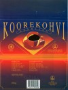Koorekohvi, chocolate with coffee & cream, 100g, 30.12.1993