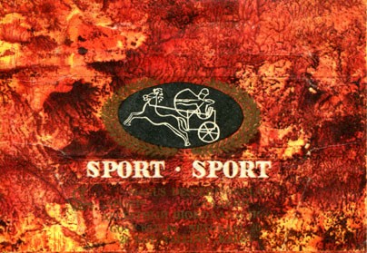 Sport, sweet dessert chocolate, 20g, about 1970, Kalev, Tallinn, Estonia