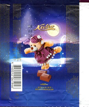 Kalev Dwarf Stocking chocolate, 20g, 04.10.2011, AS Kalev Chocolate Factory , Lehmja, Estonia
