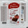 Kalev Desiree, milk chocolate with creme brulee flavoured filling, 125g, 06.11.2014, AS Kalev, Lehmja, Estonia