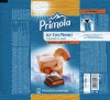 Primola, milk chocolate with peach and green tea filling, 95g, 25.04.2014, Kandia Dulce S.A, Bucharest, Romania